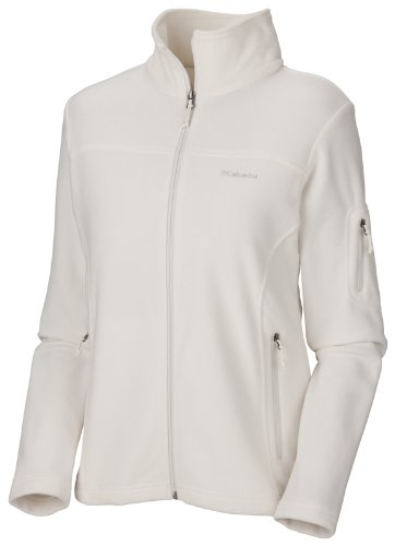 Columbia Fast Trek II Full Zip Fleece Jacket Gilet femme Blanc cassé