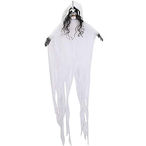 Tragbare Halloween hängenden Dekor Scary Skeleton Ghost Haunted Dekor für Hausbar Home Garden Party Indoor 78,7 Zoll Höhe
