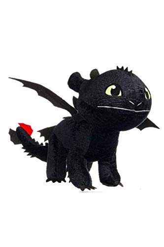 LIGHT FURY PLUSH TOY 17cm HOW TO TRAIN YOUR DRAGON 3 PELUCHE FURIA DIURNA