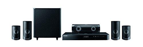 Samsung HT-J5500 5.1 3D Blu-ray Heimkinosystem (1000W, WLAN, Bluetooth, FM Tuner) schwarz (Surround-sound-system 1000w)