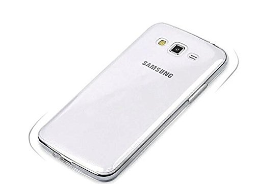 ASCENSION FOR samsung galaxy GRAND 2 G7106 silicon jelly gel Back Case Cover – Transparent