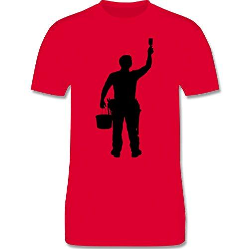 Handwerk - Maler - Herren Premium T-Shirt Rot