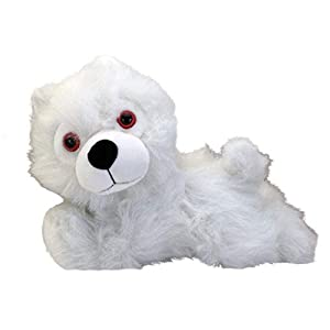Game of Thrones Plush Figure Ghost Direwolf Prone Cub 23 cm Factory Peluches