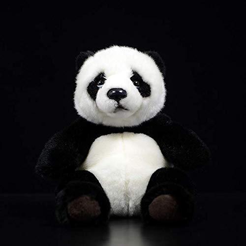 ahzha Plüschtier Realistisches Spielzeug Plüsch Asiatischer Panda Bär Lebensechte Stofftiere Panda Puppe Maskottchen Für Kinder 21Cm