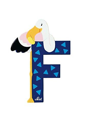 Trudi 81606 - Buchstabe Flamingo F