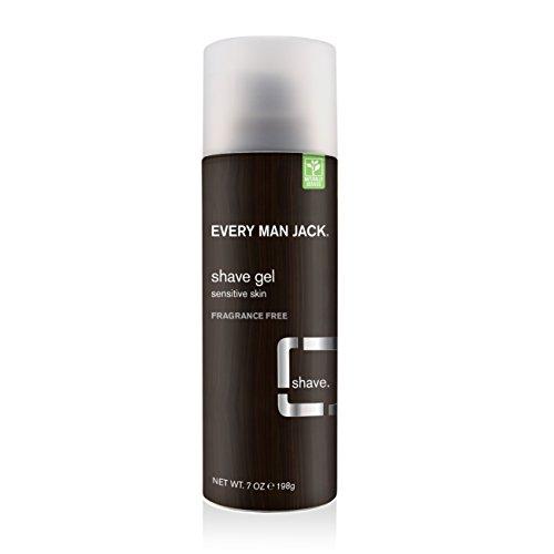 Every Man Jack   Shave Gel - Fragrance Free   1 x 207ml - Bio-shave Gel
