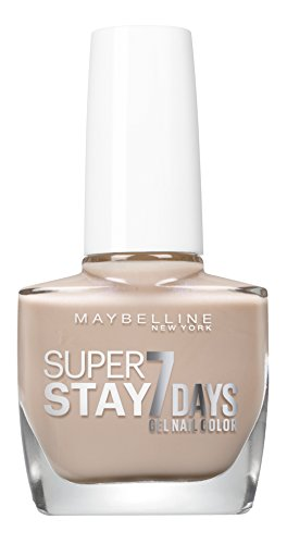 Maybelline New York smalto Superstay 7 Days City Nudes numero 890 Dusted Pearl, Confezione da 1 (1 x 10 ml)