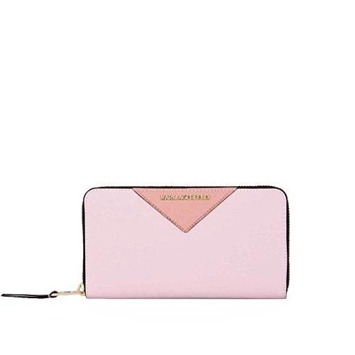 Karl Lagerfeld - Cartera para mujer  Mujer Rosa Marca Tamaño UNI