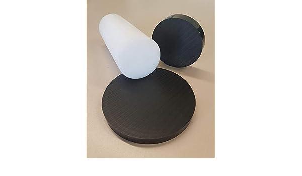 ⌀90mm L=15mm Kunststoff POM-C Rundmaterial Rundstange Ronden Ronde Scheiben ⌀ 30-100mm L= 10-95mm schwarz