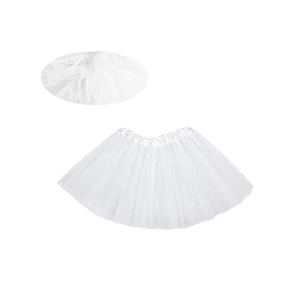Falda del tutú de moda de 3 capas de la princesa vestido de ballet Ballet del Consejo de Medio tul moda falda de la… 3