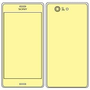 Protection Écran Martin Fields Overlay Plus (Sony Xperia Z3 Compact) - Includes Back Panel Protector,Film de protection pour l'objectif de l'appareil photo