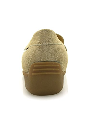 Mephisto Mocassin Mocassin En Cuir Chaussures En Cuir Chaussures Pour Femmes Nourdine Beige