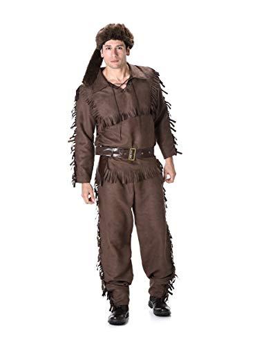 Partychimp 82087 Frontier Scout/XL Köstüm, - Trapper Kostüm