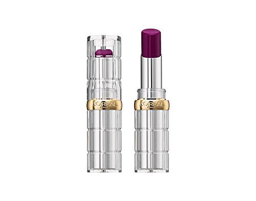 L'Óreal Paris Barra de Labios Color Riche Shine, Tono Morado 466 Beauty Queen