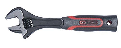 KS Tools 577.0301 Clé à molette à manche bi matière 12\