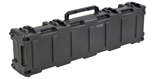 SKB Reisekoffer Transport für 2 Bögen Waffen 2 Gewehre Gemäß Militärstandard,127.0 x 25.4 x 16.5 cm schwarz