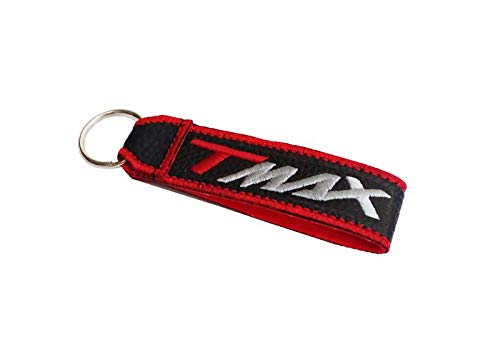 Moto Discovery T-MAX cordón Llavero Doble Cara