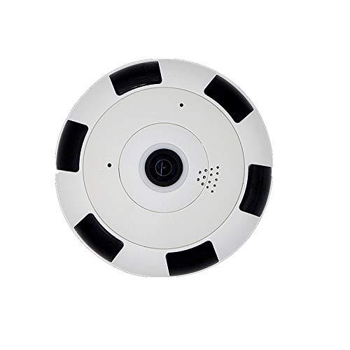 Yyzhx Panorama-Kamera Wireless WiFi Kamera VR Fischauge 360-Grad HD 2 Millionen Megapixel-Überwachungsmonitor
