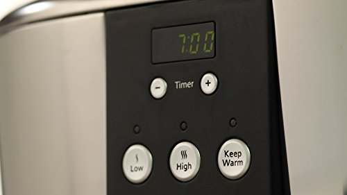 Crock-Pot 5,7 l Schongarer mit digitalem Countdown-Timer - 3