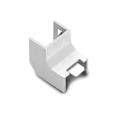 ARLI Kabelkanal 15x10mm 10x Eckstück innen 10 PVC Installationskanal Zubehör Ecken Montage 10 Stück - - Ecke