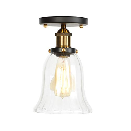 Dsti Persönlichkeit Kreative Beleuchtung Dekorative Lichter Industrielle Deckeneinbauleuchte für Waschküche Kaffee-Bar(Keine Glühbirne) -