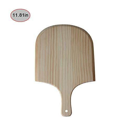 Seasons Shop Pizza De Madera Peel Paleta Y Tabla De Cortar con...