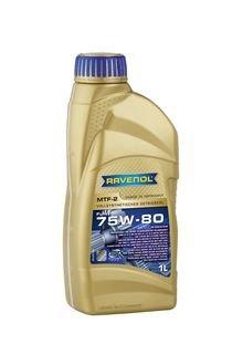 RAVENOL MTF-80API GL4/Gl5completamente sintetico per ingranaggi 2SAE 75W, 1L