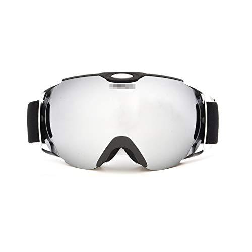XJLXX Skibrille Wechselobjektiv Doppel Anti-Fog große kugelförmige Skibrillenausrüstung kann eine Brille tragen Skibrille (Color : C)