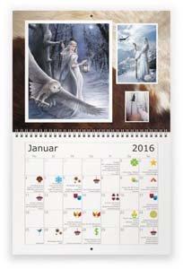 Wicca's Magischer Hexenkalender 2016: Almanac (Wicca-kalender)