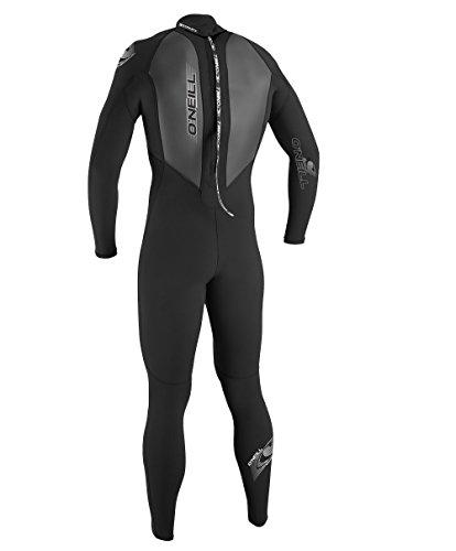 O'Neill Wetsuits Herren Neoprenanzug Reactor 3/2 mm Full Wetsuit, Black, M, 3798-A05 - 2