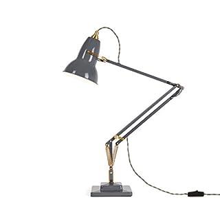 Anglepoise Original 1227 Brass Desk Lamp - Elephant Grey