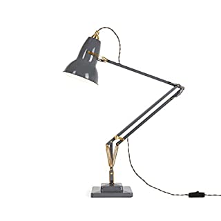 Anglepoise Original 1227 Brass Desk Lamp - Elephant Grey (B01L8WDSLQ) | Amazon price tracker / tracking, Amazon price history charts, Amazon price watches, Amazon price drop alerts