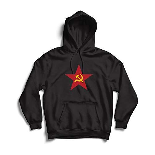 over URSS СССР Marteau et faucille, Symbole du prolétariat socialiste (Small Schwarz Mehrfarben) ()