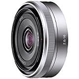 Sony SEL-16F28.AE Objectif E16 mm f/2,8 pour Appareil photo NEX Aluminium