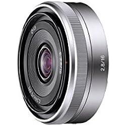 Sony Objectif SEL-16F28 Monture E APS-C 16 mm F2.8