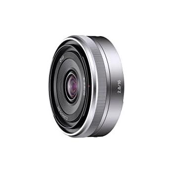 Sony SEL16F28 - Objetivo para Sony (distancia focal fija 16mm, apertura f/2.8-22, diámetro: 49mm) plateado