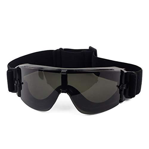 LouiseEvel215 Black Tan Green Airsoft Tactical Brille USMC Tactical Sonnenbrillen Brillen Army Airsoft Paintball Brillen