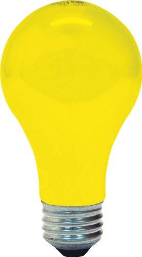 GE 97495Bug Lite A19Glühbirne, Gluehbirne, 2er Pack, 97495, 60.00watts, 120.00 volts - 2er Pack Glühbirne A19