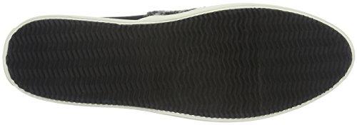 Marc O'Polo Sneaker, Baskets Basses Femme Multicolore - Mehrfarbig (Black/White 569)