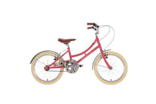 elswickharmony Mädchen Mountain Bike Scarlet Rot, 25,4cm Zoll Stahl Gestell, vorne und hinten V-Brakes 10100201Passende Schutzbleche und Kettenschutz