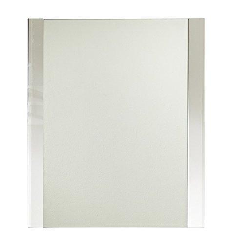 Paul ogww153050�appendiabiti Specchio, circa 74�x 88�x 4�cm, Telaio Bianco Finto