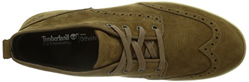 Timberland Ek Hudston Ftm, Baskets Montantes, Modèle Brogue Man Brown (braun (brown))
