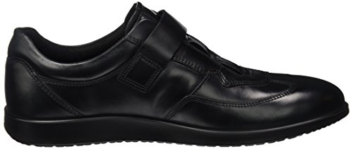 Ecco Herren Indianapolis Sneaker Schwarz (Black/Titanium)