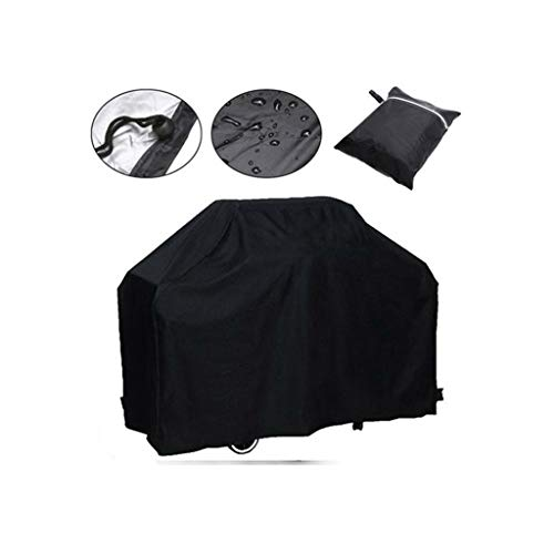 YOUSHENG Terrasse Barbecue Abdeckung, Außenofen Abdeckung Möbel Abdeckung wasserdicht, staubdicht, UV-beständig Grillabdeckung, Größe (145x61x117cm)