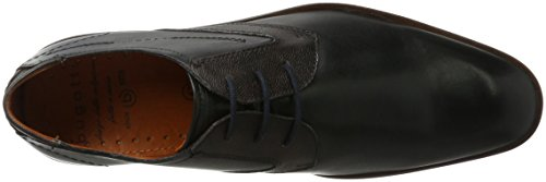 Bugatti 312296041011, Derby Uomo Nero (Black / Brown)