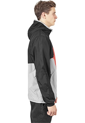 Zig Zag Windrunner grey/infrared/black