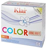 Klar EcoSensitiv Basis Compact Color - 1,3 kg Colorwaschmittel ohne Duftstoffe, vegan