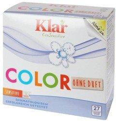 Klar EcoSensitiv Basis Compact Color - 1,3 kg Colorwaschmittel ohne Duftstoffe, vegan