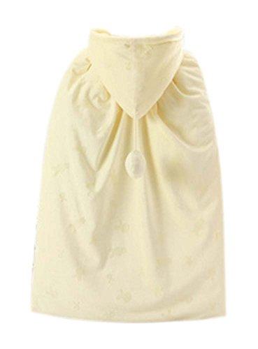 Babymantel Herbst Winter Mittel dicke warme Baumwollschal Out Kleidung Gelb