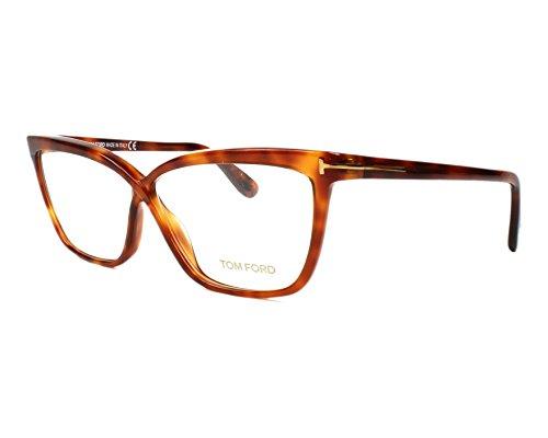 Tom Ford Ft5267 Blonde Tortoise Kunststoffgestell Brillen, 56mm